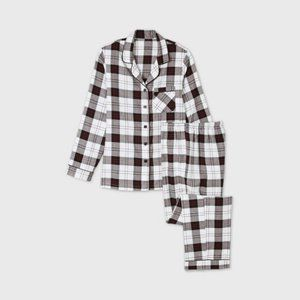 Flannel Plaid Pajama Set from Target New